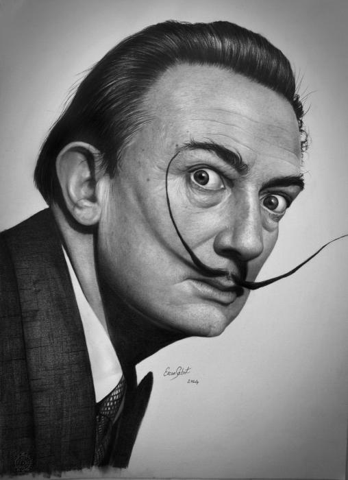 Salvador Dali by ercansebat